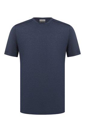 Мужская футболка CANALI темно-синего цвета, арт. T0622/MY01049 | Фото 1
