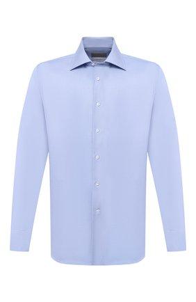 Мужская хлопковая сорочка CANALI голубого цвета, арт. N705/GR01926/P   Фото 1