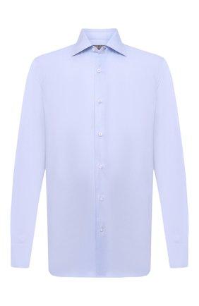 Мужская хлопковая сорочка CANALI голубого цвета, арт. 7705/GX02026   Фото 1