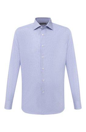 Мужская хлопковая сорочка CANALI голубого цвета, арт. 758/GD01046   Фото 1