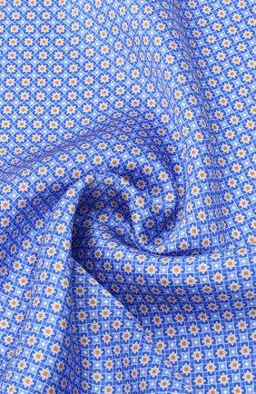 Мужской шелковый платок CANALI синего цвета, арт. 03/HS02983 | Фото 2