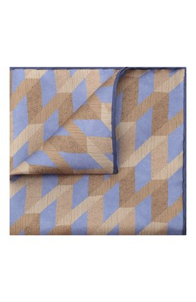 Мужской шелковый платок CANALI бежевого цвета, арт. 03/HS02971 | Фото 1