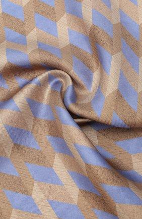 Мужской шелковый платок CANALI бежевого цвета, арт. 03/HS02971 | Фото 2