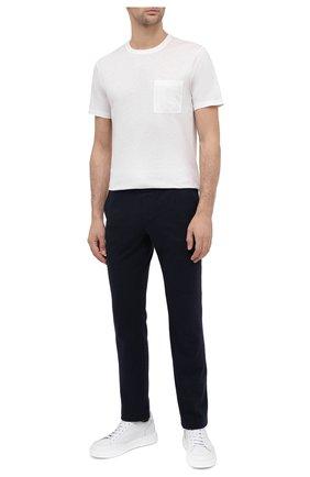 Мужская хлопковая футболка VILEBREQUIN белого цвета, арт. TUSU0P00/052 | Фото 2