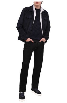 Мужские джинсы GIORGIO ARMANI черного цвета, арт. 6HSJ63/SN60Z | Фото 2