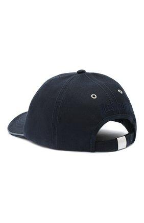 Мужской хлопковая бейсболка VILEBREQUIN темно-синего цвета, арт. CPIP632P/390 | Фото 2