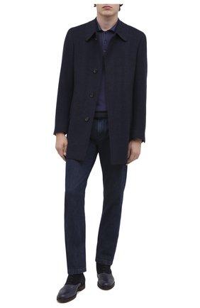 Мужские комбинированные ботинки MORESCHI темно-синего цвета, арт. 43556/162/DURANG0/F.NAPPA | Фото 2