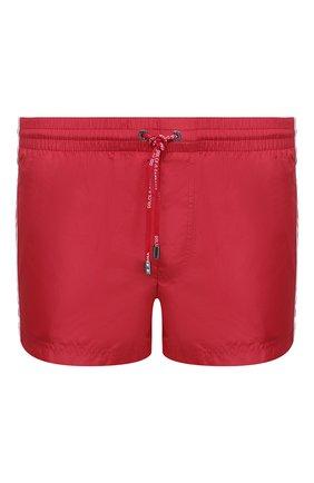Мужские плавки-шорты DOLCE & GABBANA красного цвета, арт. M4A67T/FUSFW   Фото 1