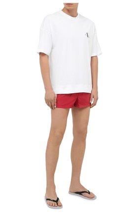 Мужские плавки-шорты DOLCE & GABBANA красного цвета, арт. M4A67T/FUSFW   Фото 2