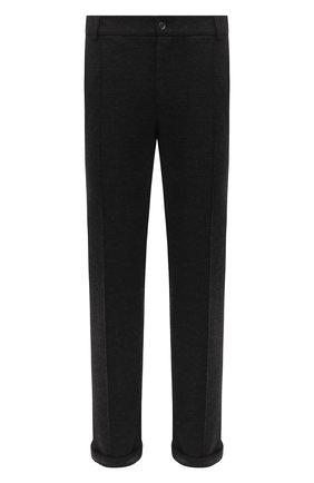 Мужской брюки CAPOBIANCO черного цвета, арт. 9M805.IN00. | Фото 1