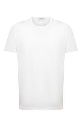 Мужская хлопковая футболка GRAN SASSO белого цвета, арт. 60155/74000 | Фото 1