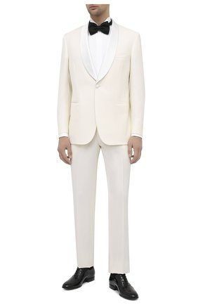 Мужская хлопковая сорочка BRIONI белого цвета, арт. RCX10M/0Z022 | Фото 2