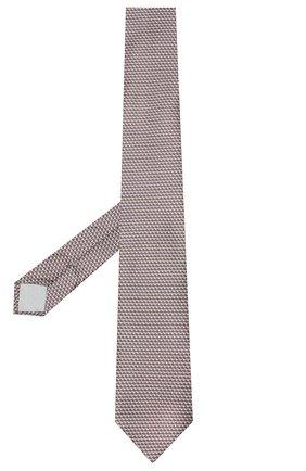 Мужской комплект из галстука и платка BRIONI коричневого цвета, арт. 08A900/0940C | Фото 2