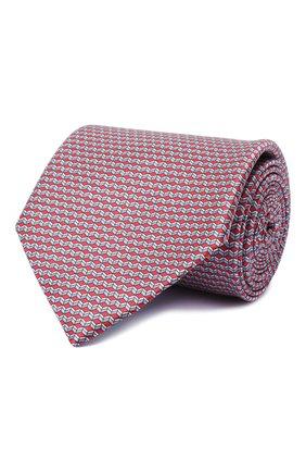 Мужской комплект из галстука и платка BRIONI красного цвета, арт. 08A900/0940C | Фото 1