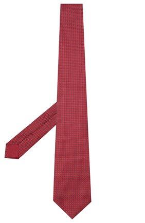 Мужской шелковый галстук BRIONI красного цвета, арт. 062I00/09458 | Фото 2