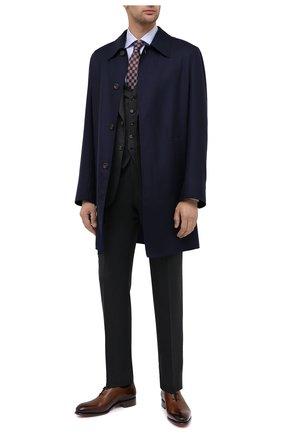 Мужская хлопковая сорочка CANALI голубого цвета, арт. XX18/GX02038 | Фото 2