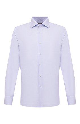 Мужская хлопковая сорочка CANALI голубого цвета, арт. X58/GD01947   Фото 1