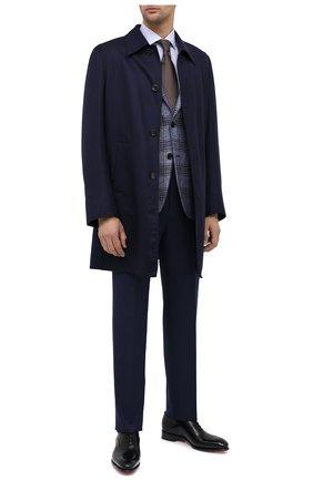 Мужская хлопковая сорочка CANALI голубого цвета, арт. X58/GD01947   Фото 2