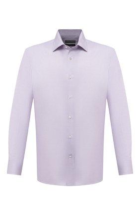 Мужская хлопковая сорочка CANALI светло-сиреневого цвета, арт. 7705/GX02028 | Фото 1