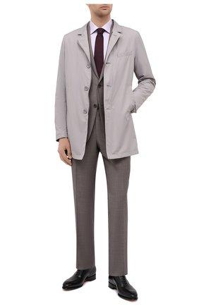 Мужская хлопковая сорочка CANALI светло-сиреневого цвета, арт. 7705/GX02028 | Фото 2