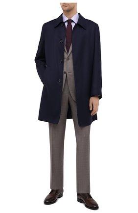 Мужская хлопковая сорочка CANALI сиреневого цвета, арт. 7705/GX02028 | Фото 2