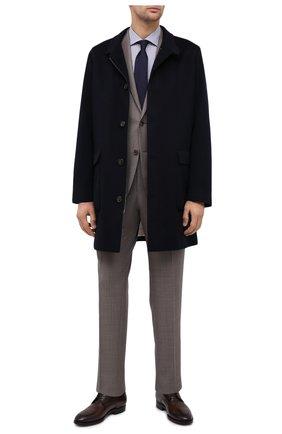 Мужская хлопковая сорочка CANALI темно-синего цвета, арт. 758/GD01948   Фото 2