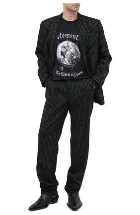 Мужской шерстяной пиджак VETEMENTS зеленого цвета, арт. MAH21JA078 1211 | Фото 2