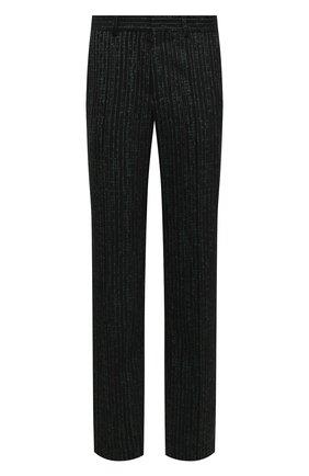 Мужские шерстяные брюки VETEMENTS зеленого цвета, арт. MAH21PA930 1204 | Фото 1