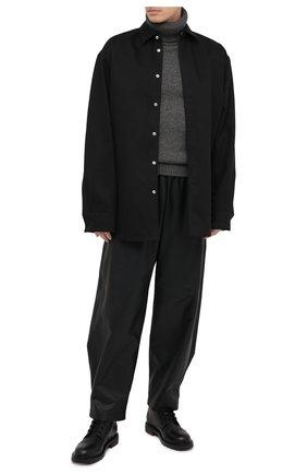 Мужской шерстяной свитер SAINT LAURENT серого цвета, арт. 635485/YALK2 | Фото 2