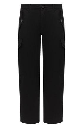 Мужской хлопковые брюки-карго LOEWE черного цвета, арт. H526331W01 | Фото 1