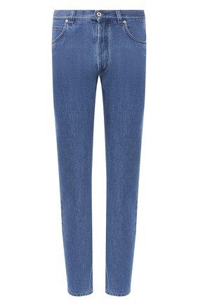 Мужские джинсы LOEWE синего цвета, арт. H526331XA4 | Фото 1