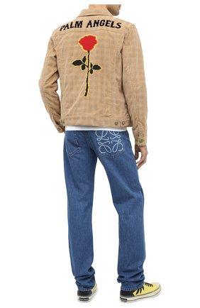 Мужские джинсы LOEWE синего цвета, арт. H526331XA4 | Фото 2