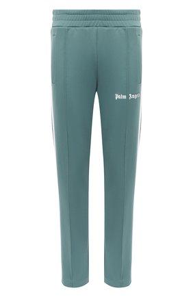 Мужской брюки PALM ANGELS светло-зеленого цвета, арт. PMCA007E20FAB0015901 | Фото 1