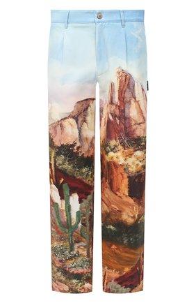 Мужской хлопковые брюки PALM ANGELS разноцветного цвета, арт. PMCA081E20FAB0014084 | Фото 1