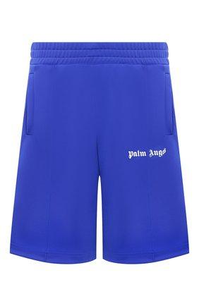 Мужские шорты PALM ANGELS синего цвета, арт. PMCB011E20FAB0054501 | Фото 1