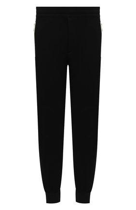 Мужской хлопковые джоггеры ALEXANDER MCQUEEN черного цвета, арт. 625380/QPX43 | Фото 1