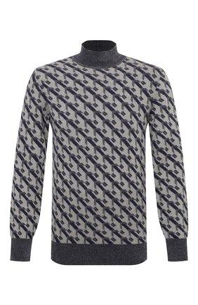 Мужской свитер GIORGIO ARMANI темно-серого цвета, арт. 6HSM33/SM20Z | Фото 1