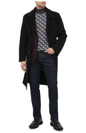 Мужской свитер GIORGIO ARMANI темно-серого цвета, арт. 6HSM33/SM20Z | Фото 2