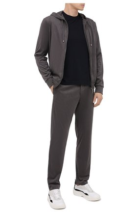 Мужской брюки GIORGIO ARMANI темно-серого цвета, арт. 6HSP53/SJGBZ | Фото 2