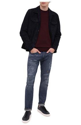 Мужские джинсы POLO RALPH LAUREN синего цвета, арт. 710810587 | Фото 2