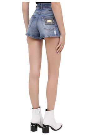 Женские джинсовые шорты DOLCE & GABBANA синего цвета, арт. FTBXCD/G8CS6 | Фото 5