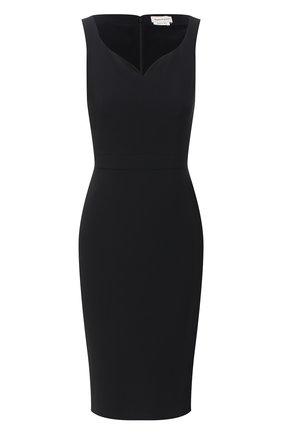 Женское платье ALEXANDER MCQUEEN черного цвета, арт. 627514/QEAAA   Фото 1