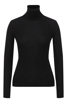 Женская водолазка из кашемира и шерсти SAINT LAURENT черного цвета, арт. 637869/YAPK2 | Фото 1