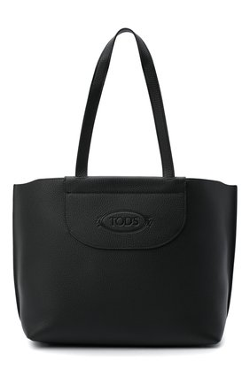 Женский сумка-шопер TOD'S черного цвета, арт. XBWA0LA0300RIA | Фото 1