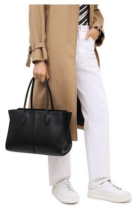 Женский сумка TOD'S черного цвета, арт. XBWA0NA0300R0R | Фото 2
