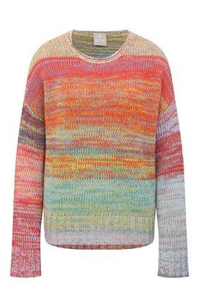 Женский кашемировый свитер FTC разноцветного цвета, арт. 003-8010 | Фото 1