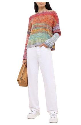 Женский кашемировый свитер FTC разноцветного цвета, арт. 003-8010 | Фото 2