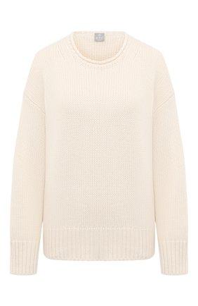 Женский кашемировый свитер FTC белого цвета, арт. 800-0170 | Фото 1