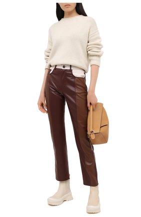 Женский кашемировый свитер FTC белого цвета, арт. 800-0170 | Фото 2