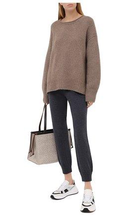 Женский кашемировый свитер FTC бежевого цвета, арт. 800-0170 | Фото 2